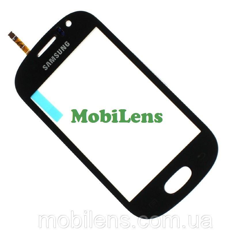 Samsung S6810, Galaxy Fame Тачскрин (сенсор) чёрный
