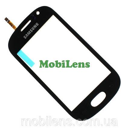 Samsung S6810, Galaxy Fame Тачскрин (сенсор) чёрный, фото 2