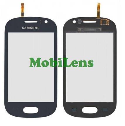 Samsung S6810, Galaxy Fame Тачскрин (сенсор) синий, фото 2