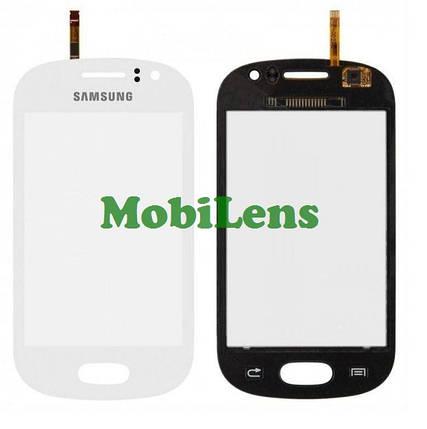 Samsung S6810, Galaxy Fame Тачскрин (сенсор) белый, фото 2