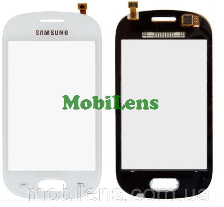 Samsung S6812, Galaxy Fame Dual Sim Тачскрин (сенсор) белый