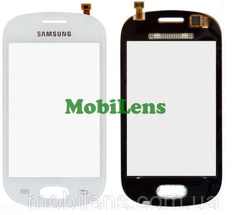 Samsung S6812, Galaxy Fame Dual Sim Тачскрин (сенсор) белый, фото 2