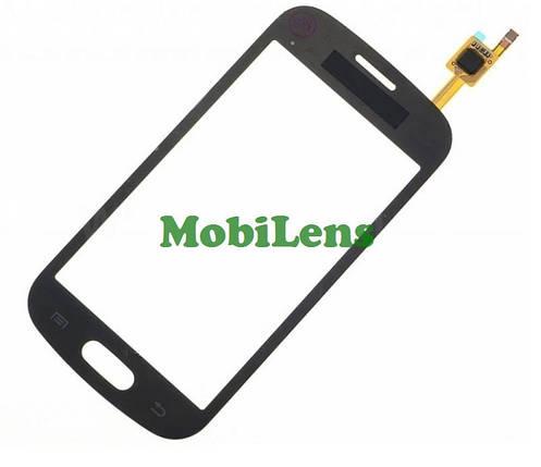 Samsung S7390, S7392 Тачскрин (сенсор) чёрный, фото 2