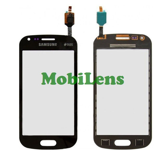 Samsung S7580, S7582 Galaxy Trend Plus Тачскрин (сенсор) черный