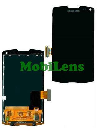Samsung S8530, Wave 2,Wave II Дисплей+тачскрин(сенсор) черный, фото 2