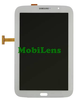 Samsung N5100, N5110 Galaxy Note 8.0 (версия Wi-Fi) Дисплей+тачскрин(модуль) белый, фото 2