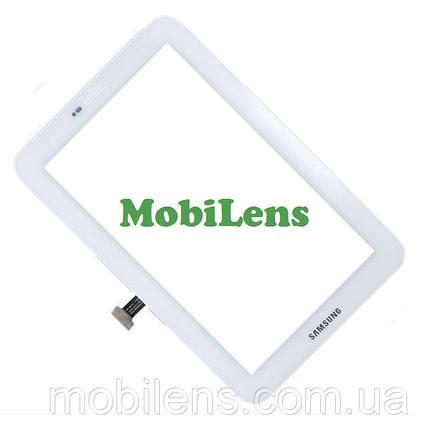 Samsung P3100, P3113 Galaxy Tab 2 (версия 3G) Тачскрин (сенсор) белый, фото 2