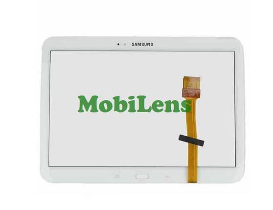 Samsung P5200, P5210 Galaxy Tab 3 Тачскрин (сенсор) белый, фото 2