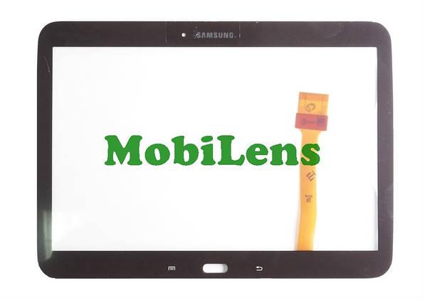 Samsung P5200, P5210 Galaxy Tab 3 Тачскрин (сенсор) коричневый Gold Brown, фото 2