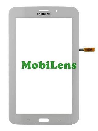 Samsung T116, Galaxy Tab 3 Lite 7.0 (версия 3G) Тачскрин (сенсор) белый, фото 2