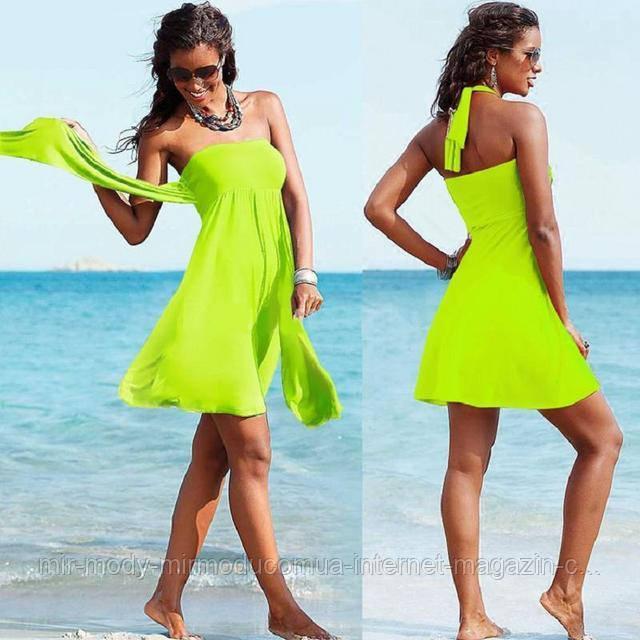 Пляжное платье AL7034 -70  9 цветов