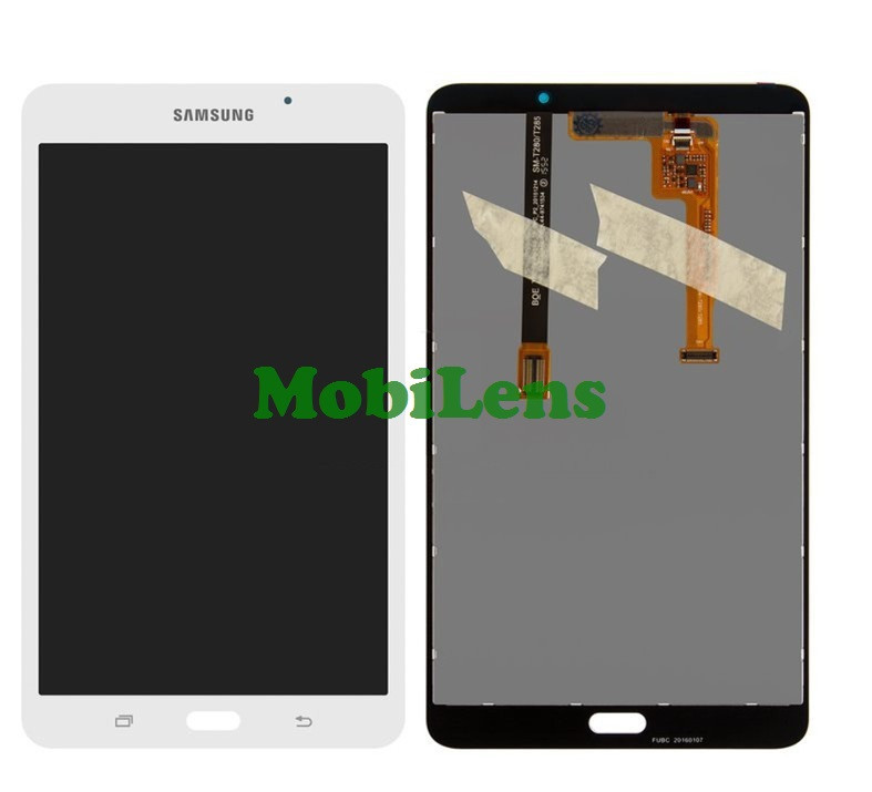 Samsung T280, Galaxy Tab A 7.0 (версия Wi-Fi) Дисплей+тачскрин(модуль) белый