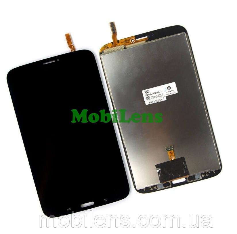 Samsung T311, T3110 Galaxy Tab 3 8.0 (версия 3G) Дисплей+тачскрин(модуль) черный