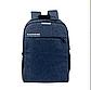Рюкзак с кодовым замком городской молодежный с USB AUX черный, фото 4