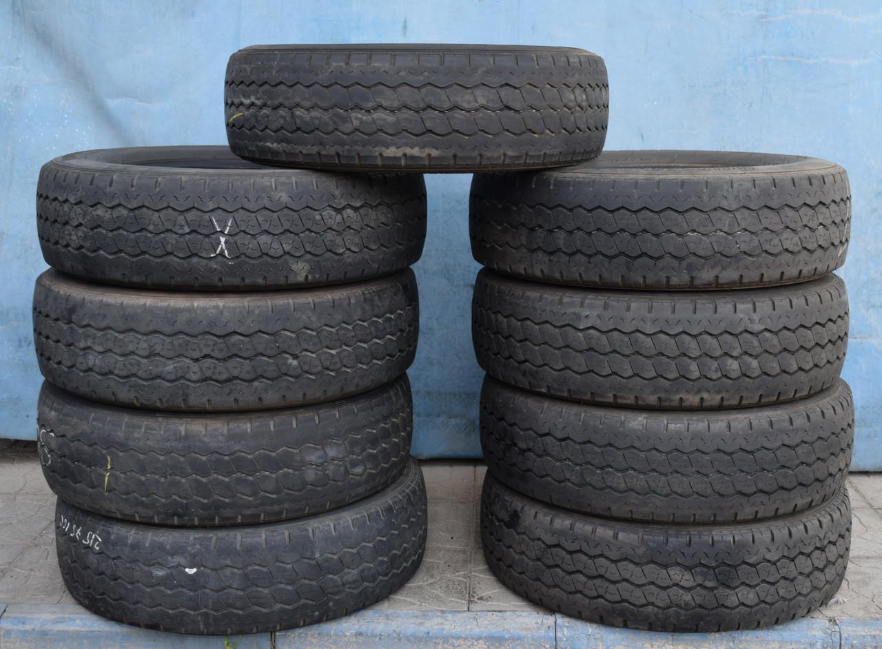 Шины б/у 215/75 R16С Bridgestone R623, ЛЕТО, комплект+одна