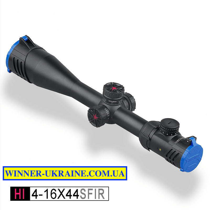 Оптический прицел Discovery HI SFP 4-16х44 SFIR