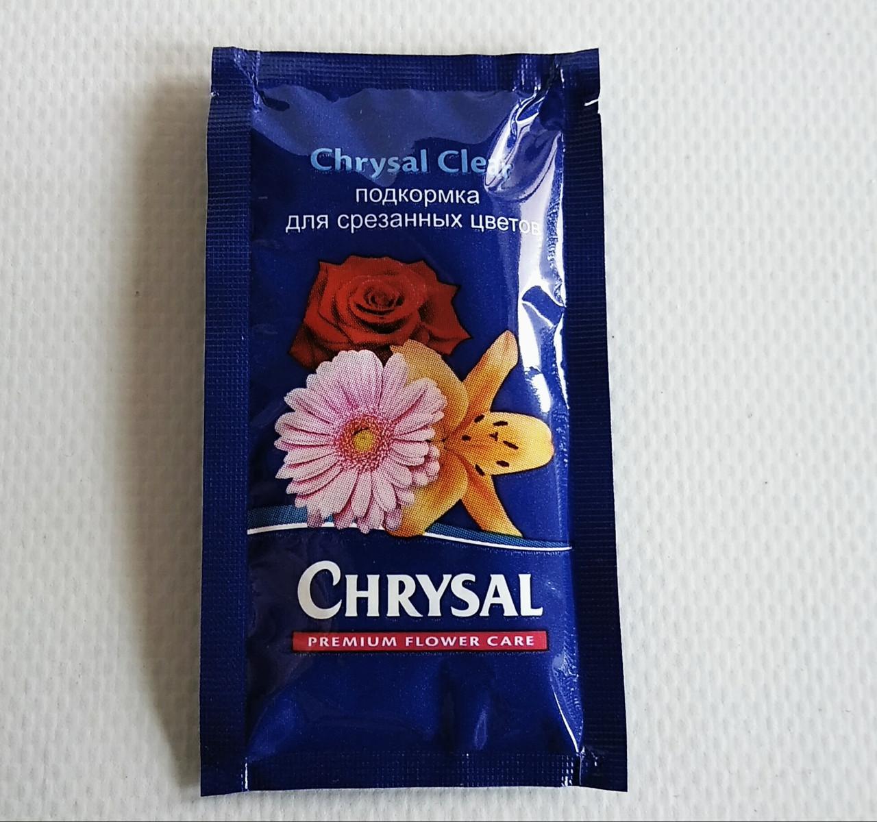 Универсальная подкормка порошок для срезанных цветов Chrysal на 1л