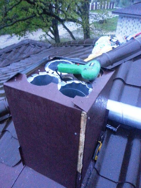 Фальшкороб для вентиляционных труб.