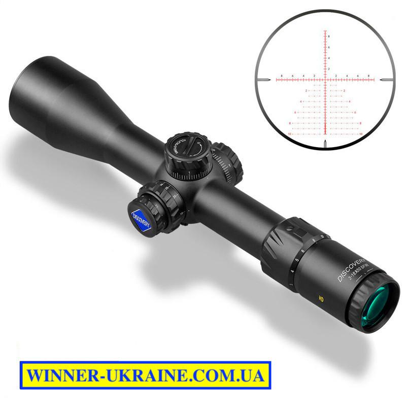 Оптический прицел Discovery HD/34 FFP 3-18х50 SFIR