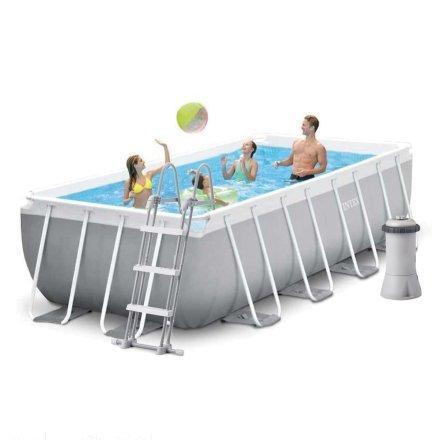 Каркасный бассейн Intex 26788 400*200*100см + насос-фильтр