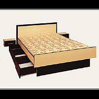 Кровать Комфорт 1400 венге св. (СОКМЕ)