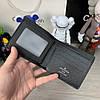 Мужской кожаный кошелек, портмоне бумажник Wallet Louis Vuitton LV, чоловічий шкіряний гаманець Луи Витон ЛВ, фото 3