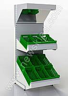 Стелаж овочевий 1900*950 мм приставний Рістел