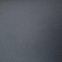 Палаточная ткань( Оксфорд 600D PU/230g) толщина 0.35мм 150см тёмно-серый графит