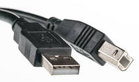 Кабель PowerPlant USB 2.0 AM – BM, 1.8м