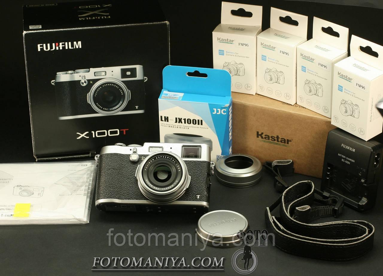 Fujifilm X100T + аксесуари. Пробіг камери - 7600 кадрів.