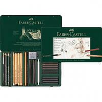 Набор для графики Faber Castell, Pitt Monochrome, 33 предмета (112977)