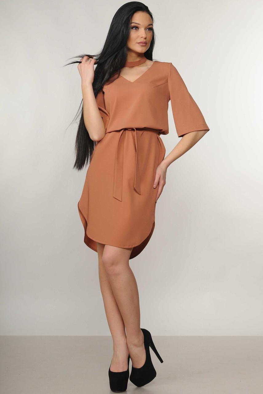 80e7332cdb4989b Деловое летнее платье с 42 по 52 размер, цена 740 грн., купить в ...