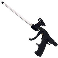 Пистолет для монтажной пены с тефлоновым покрытием иглы, трубки и держателя баллона + 4 нас.