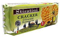 Крекер з розмарином і оливковою олією Cracker Olivenol Rosmarin Stiratini 250 г Австрія