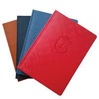 Щоденники А4 з символікою, різні кольори, фото 1