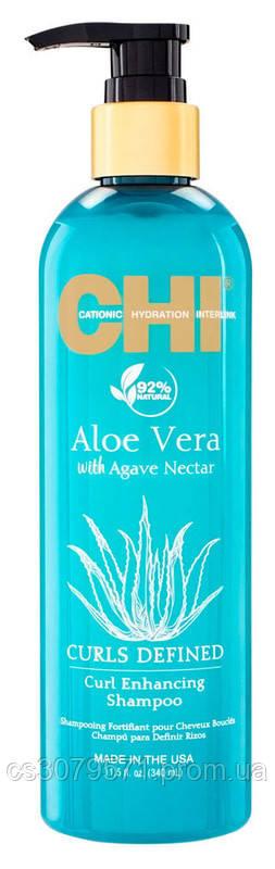 Шампунь для вьющихся волос CHI Aloe Vera Curl Enhancing Shampoo340 мл