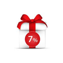 СКИДКА 7% на все последующие покупки!