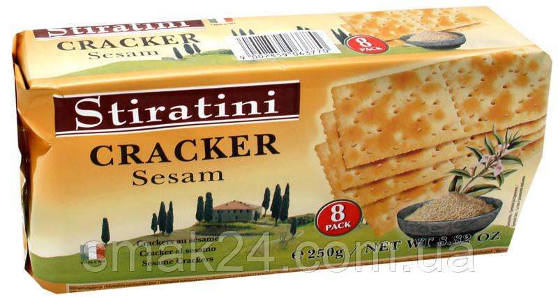 Крекер з кунжутом Cracker Sesam Stiratini 250 г Австрія