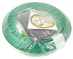 Бордюр GARDENER зеленый 4см х 10м  + 20 колышков