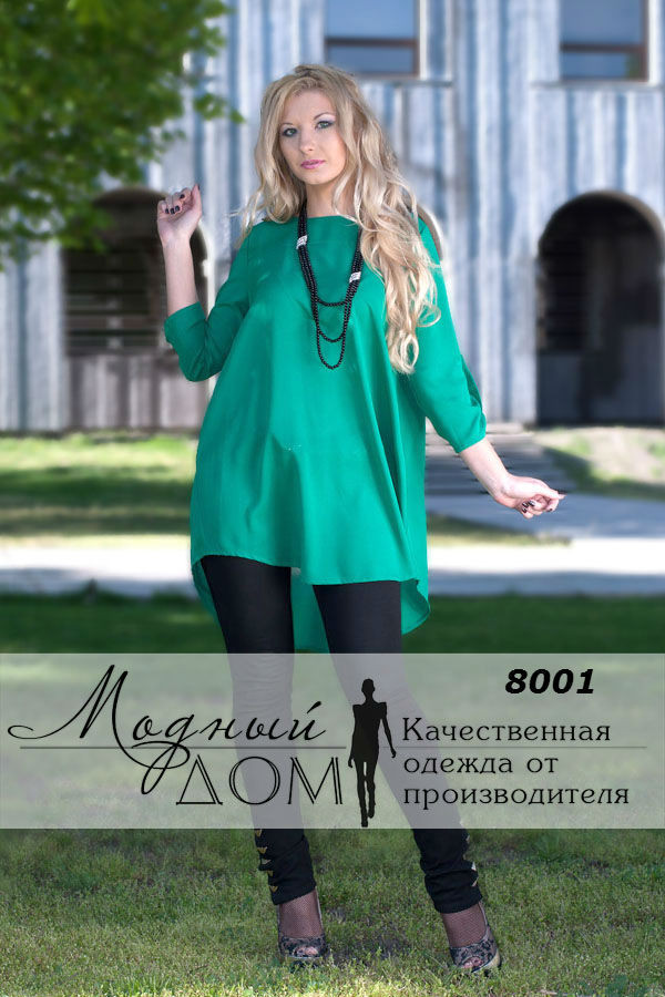 Женская блуза(42-60)  8001