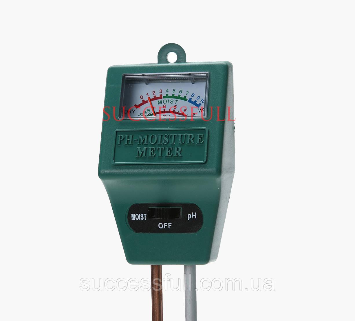 Аналізатор грунту PH метр для грунту