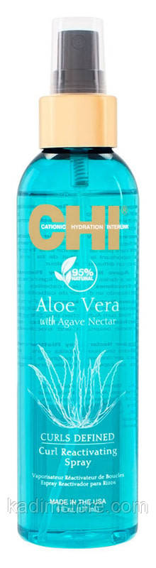 Спрей для возрождения кудрей - CHI Aloe Vera Curl Reactivating Spray - 177мл