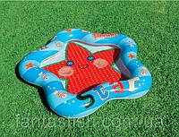Детский надувной бассейн INTEX 59405 звезда, в кульке, 102-99-13см IKD /50-3
