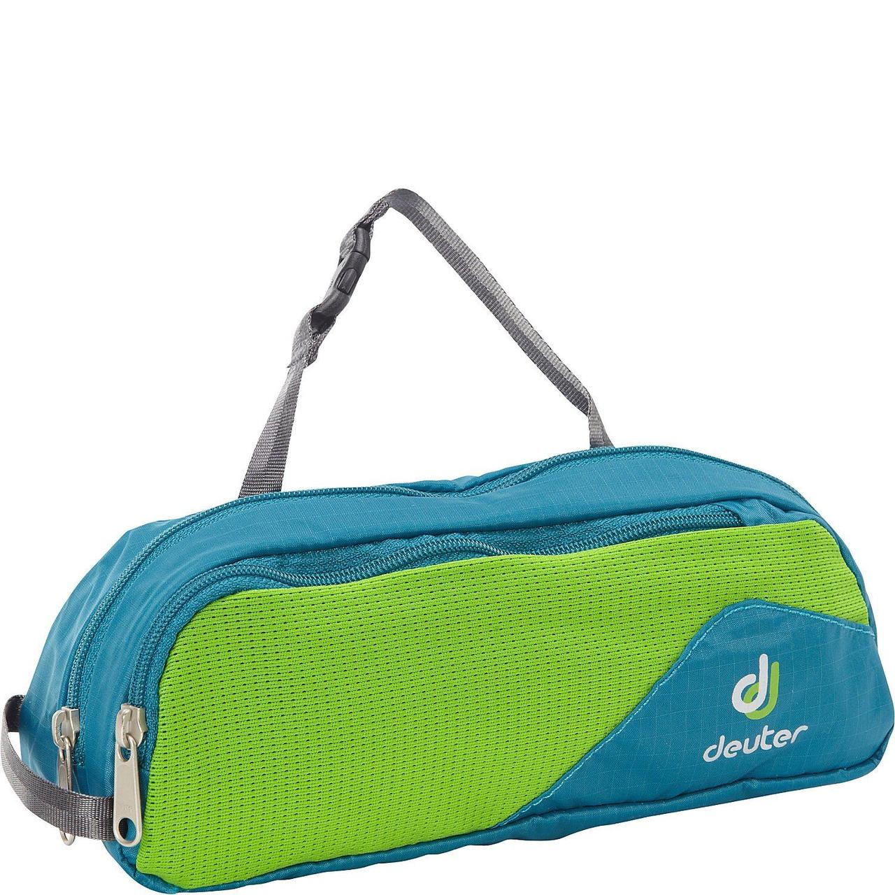 Несессер Deuter Wash Bag Tour I petrol-spring (39482 3219)