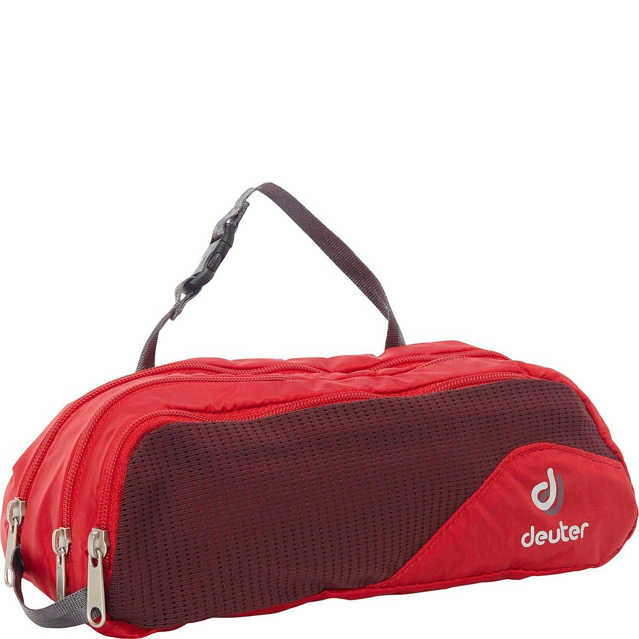 Несессер Deuter Wash Bag Tour II fire-aubergine (39492 5513)