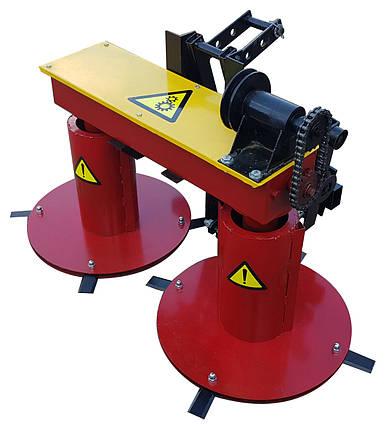 Косарка роторна для мінітрактора КР-1.1 МП-2, фото 2