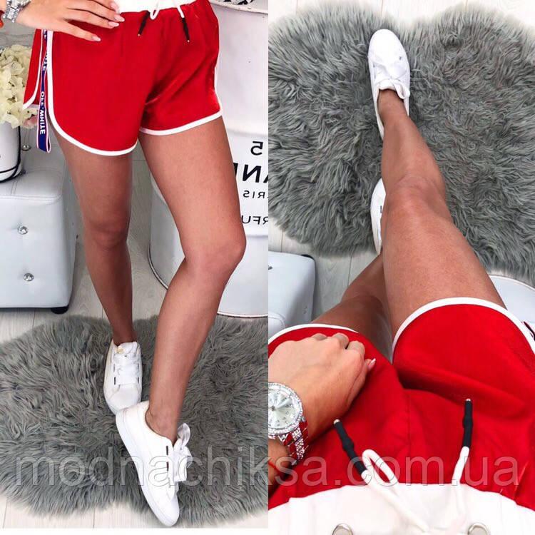 Спортивные женские шорты