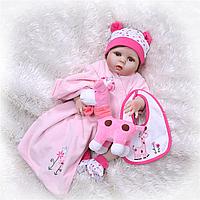 Кукла реборн Ульяна 53 см полностью виниловая Reborn doll