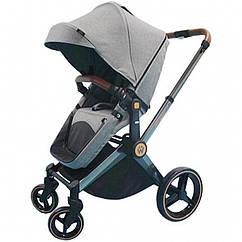 Детская коляска 2 в 1 Welldon (графитовый) WD007