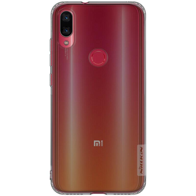 Накладка Nillkin TPU Nature Xiaomi Mi Play transparent grey EAN/UPC: 6902048171237